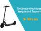Notre avis sur la trottinette électrique Suprem 2.0 de Wegoboard