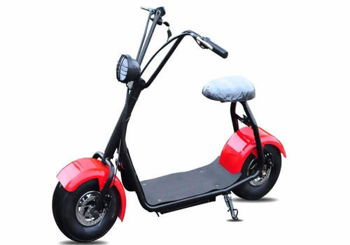 trottinette electrique scooter boogy rouge